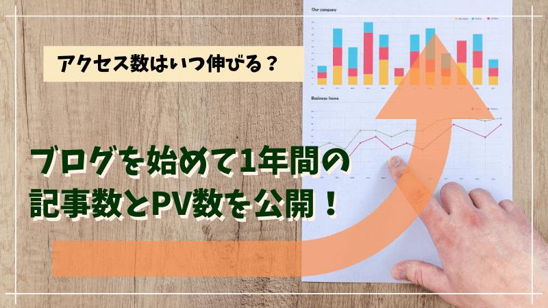 ブログ アクセス数 PV数 推移公開