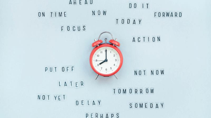 ブログを書く時間管理